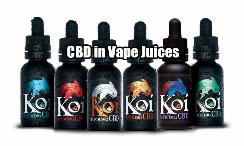 CBD in Vape Juices