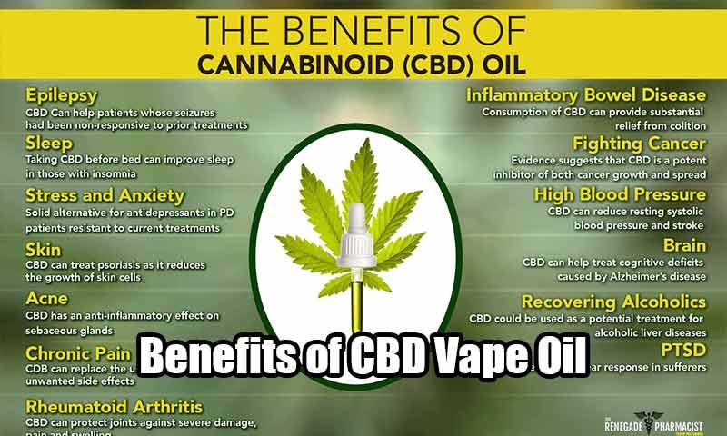 Benefits of CBD Vape Oil